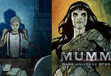 The Mummy Dark Universe Stories Cover