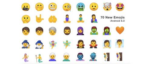 Android 8.0 Emoji D