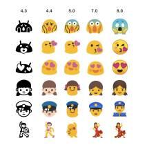 Android 8.0 Emoji H