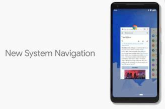 Android P New System Navigation