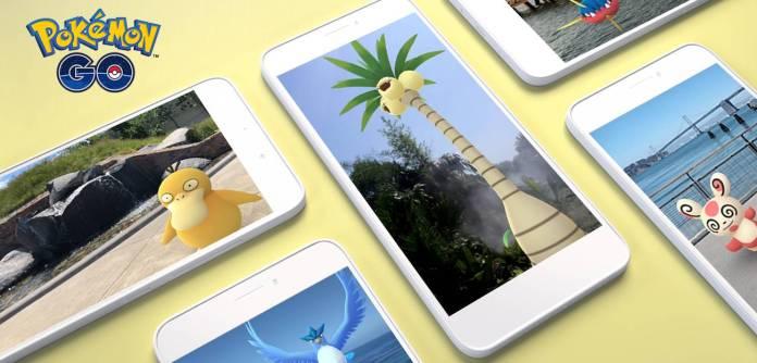 Pokemon GO AR+ augmented reality