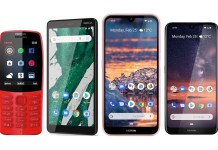 MWC 2019 NOKIA Phones