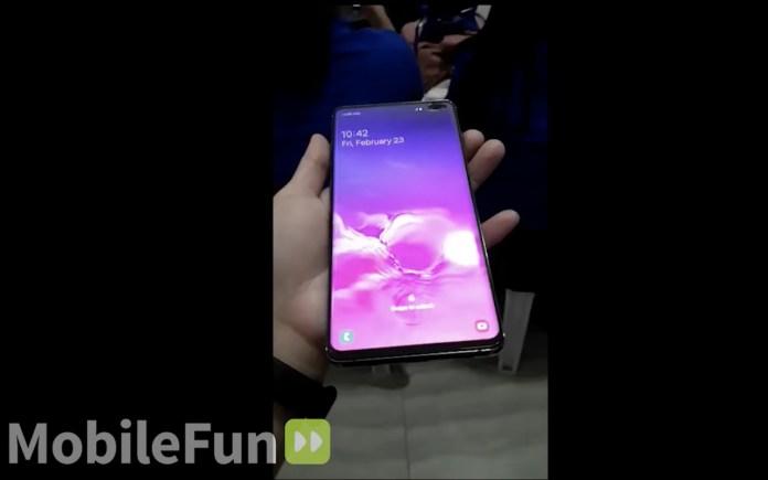 Samsung Galaxy S10 Plus Hands-on