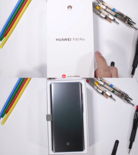 Huawei P30 Pro Durability Test 1