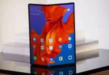 Huawei Mate X foldable phone launch