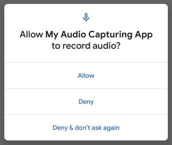 Android Q Audio B