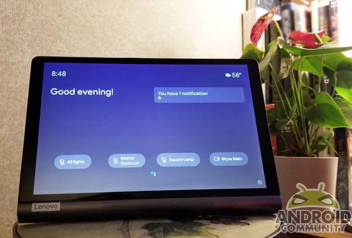 لينوفو يوجا الذكية تبويب مع Google Assistant مراجعة: مضاعفة كشاشة ذكية 4