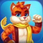 Cat Heroes Match 3 Puzzle Adventure with Cats  62.17.3 APK MOD