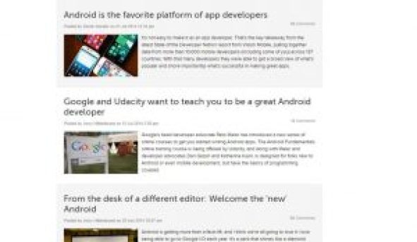 best blogs for Android
