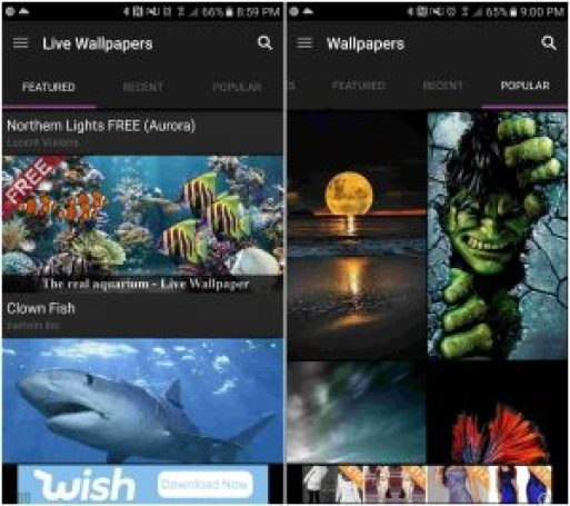 zedge app for android