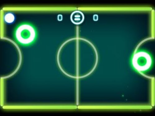 Glow hockey 2 is a great free multiplayer game, helps you to revive experience of all time to your friends and you.