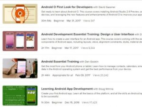 Lynda has the greatest wide variety of video tutorials unlike any other tutorial series.