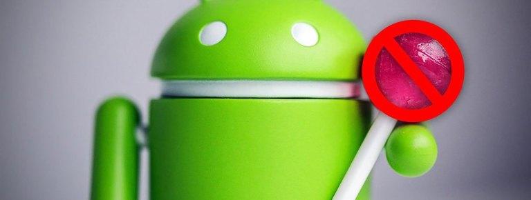 Проблемы с Android Lollipop и их решения
