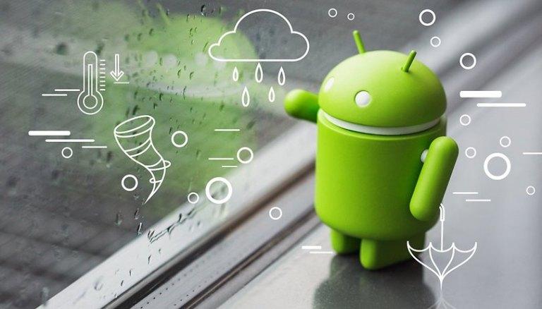 15 лучших погодных приложений для Android