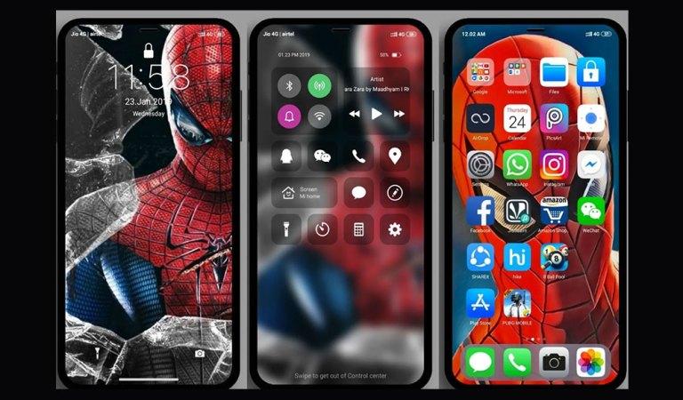 Скачать iOS Pro MIUI Theme для телефонов Xiaomi [MIUI 10]