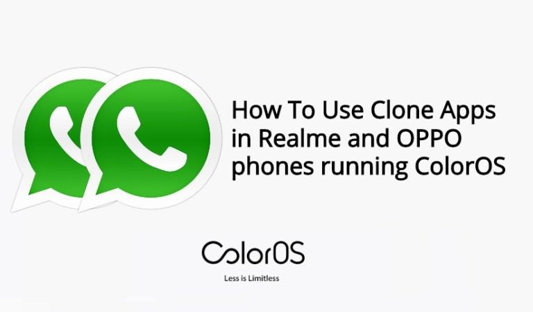 Как использовать App Cloner в телефонах Realme и OPPO под управлением ColorOS