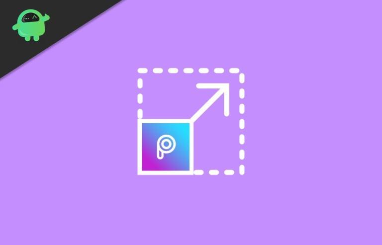 Как изменить разрешение фотографии в PicsArt