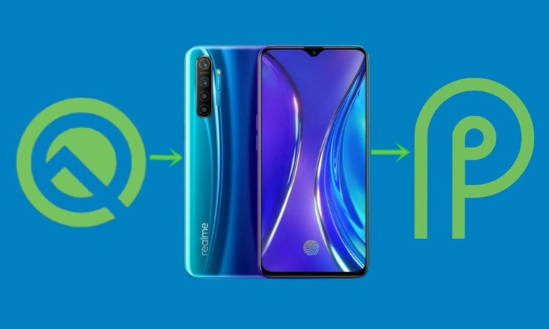 Понизьте версию Realme X и X2 с Android 10 до 9.0 Pie