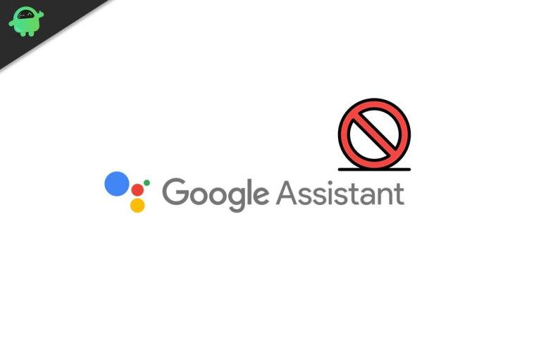 Как исправить что-то пошло не так с помощником Google?