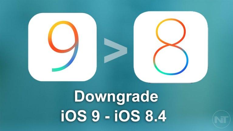 Как установить iOS 8.4 на устройства iOS 9 (переход на более раннюю версию)