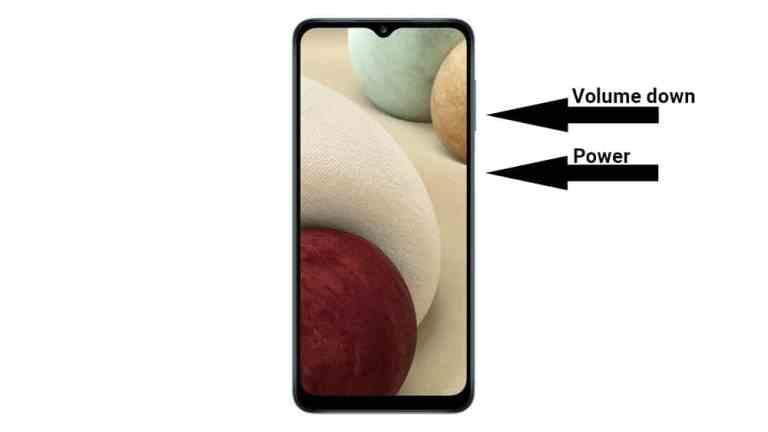 3 способа сделать снимок экрана на Samsung Galaxy A12