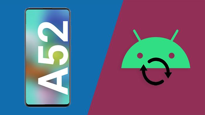 Как войти в режим восстановления на Samsung Galaxy A52