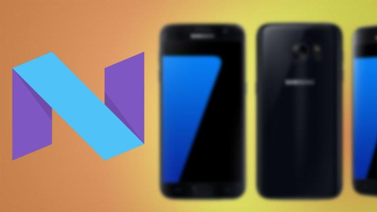 Установите прошивку 7.0 Nougat на Galaxy S7 SM-G930F с помощью Odin
