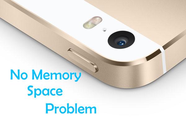 Как исправить отсутствие свободного места и памяти на iPhone 5s и iPad Air