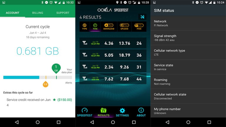 Как включить и использовать SIM-карту Project Fi на Nexus 5