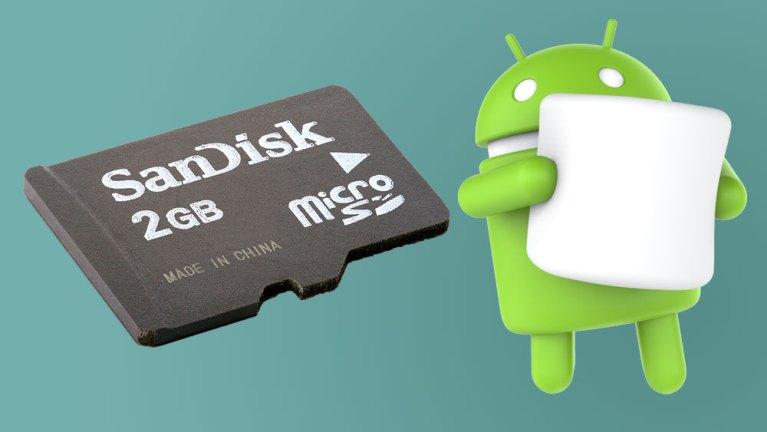 Простой способ использовать SD-карту в качестве внутреннего хранилища на Marshmallow