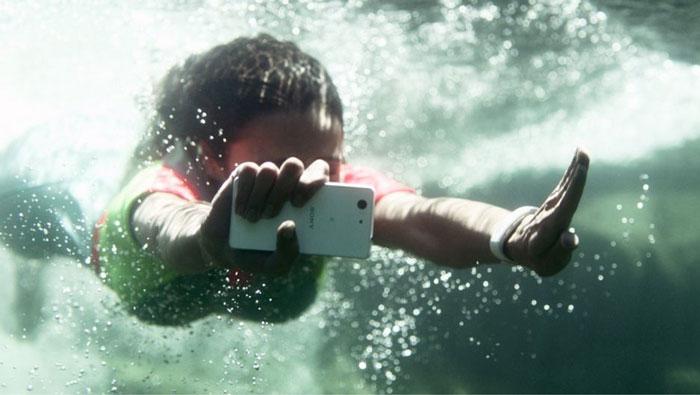 Как правильно записывать подводное видео на Xperia Z3