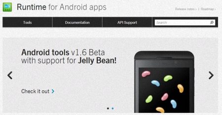 Jelly Bean en BlackBerry 10.2