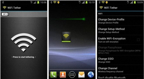 WiFi Tether for Root Users
