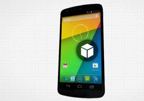 Nexus 5 render 3D