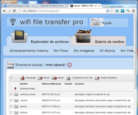 WiFi File Transfer Pro de Google Play 02