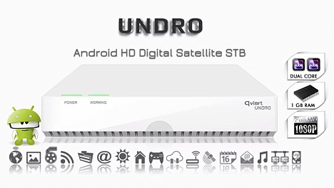 receptor satelital Android