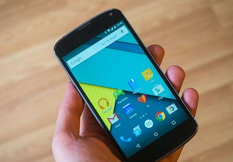 Nexus 4 con Lollipop