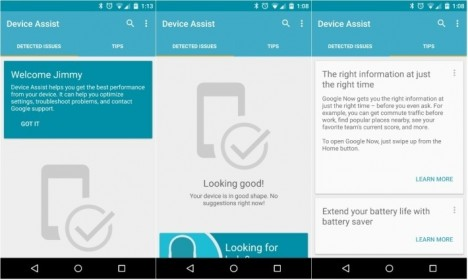 App Android Assist Device