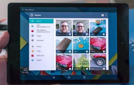 Bajo desempeño del Nexus 9