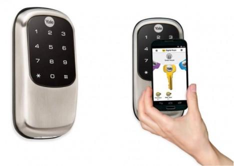 Yale y su cerradura digital Android