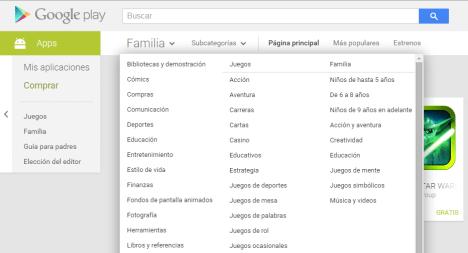 Aplicaciones Android para la Familia en Play Store