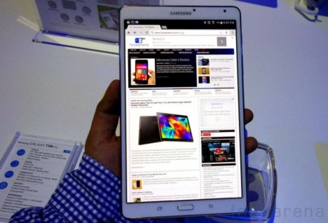 Actualización OTA para el Samsung Galaxy Tab S 8.4 LTE