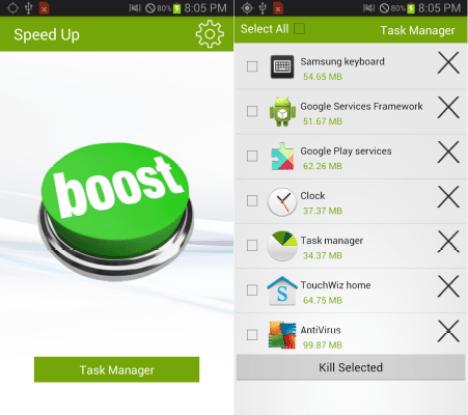 Mejorar la velocidad de telefonos móviles y Tablets Android