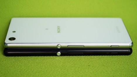 Borde metálico y pequeño espesor del Sony Xperia M5