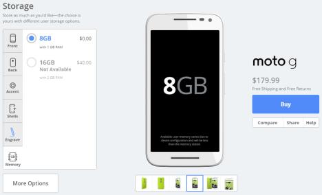 Moto G 2015 (era Gen) agotado en su versión de 16 GB