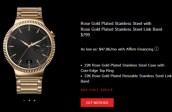 04 Rose Gold Huawei Watch