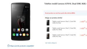 Lenovo A7010 con lollipop Android 5.1