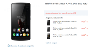 Lenovo A7010 con lollipop Android 5.1
