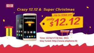 Elephone con promociones en Diciembre