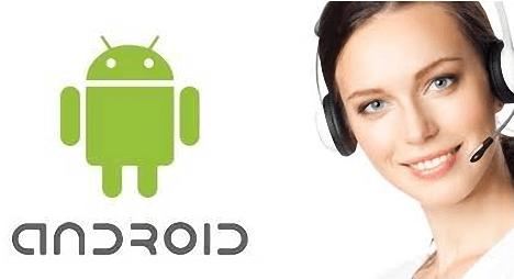 soporte al cliente Android